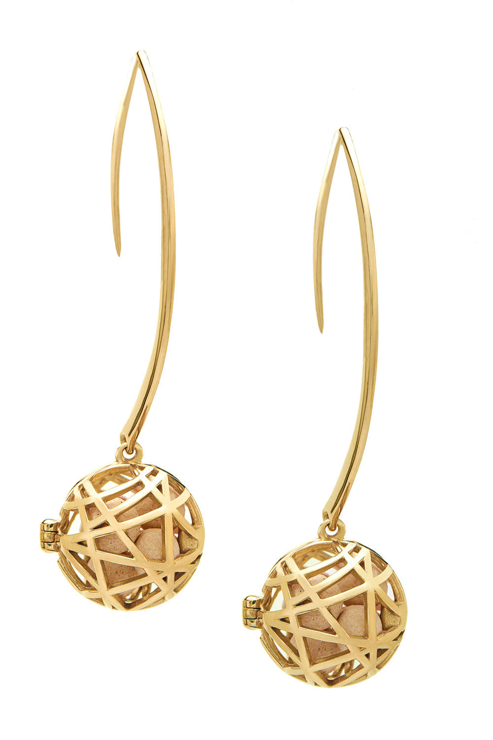 Nest Earrings - Gold
