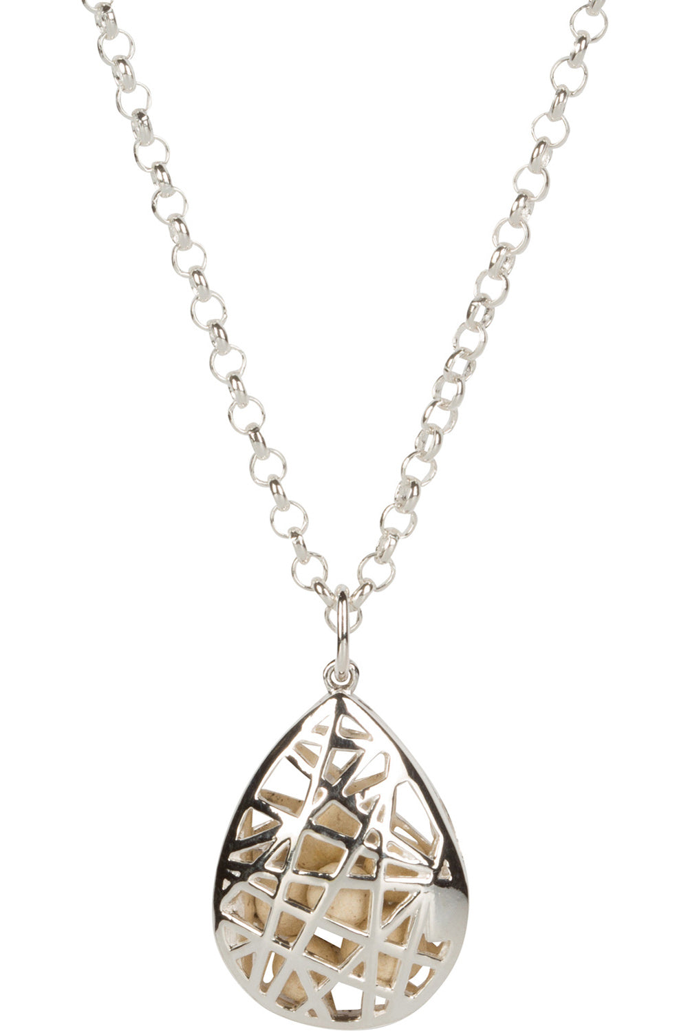 Teardrop Nest Necklace