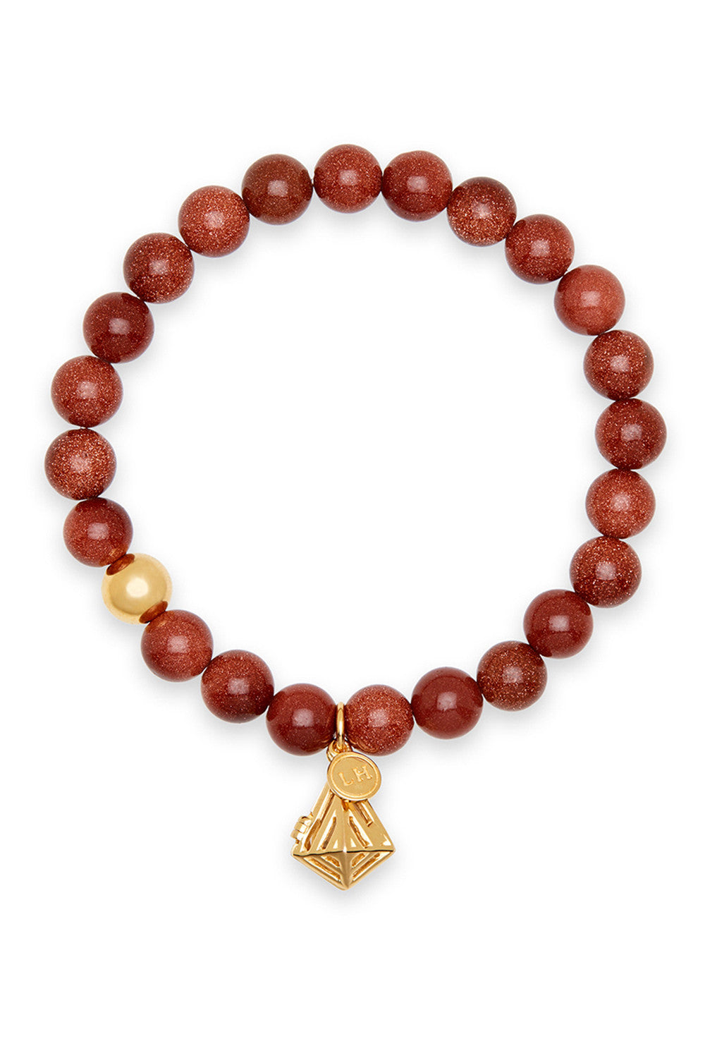 Cauda Bracelet with Geo-Gem Charm