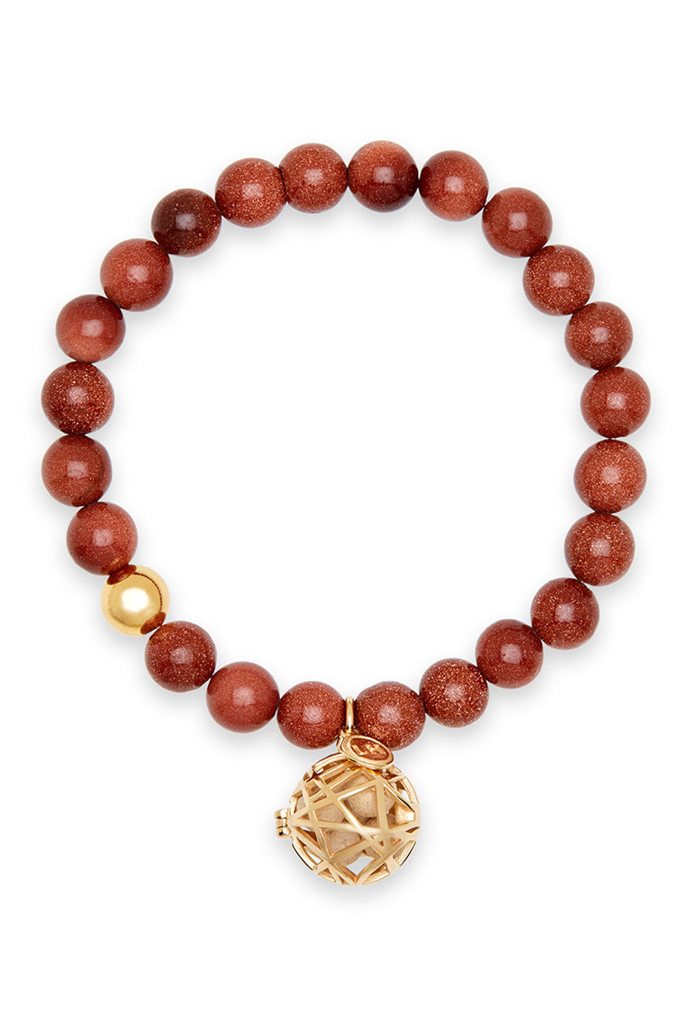 Cauda Bracelet with Nest Charm