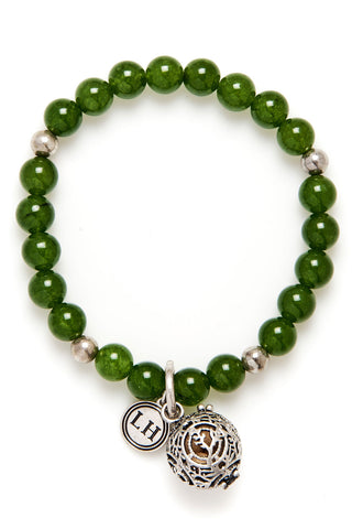 Green Jade Fragrance Bracelet