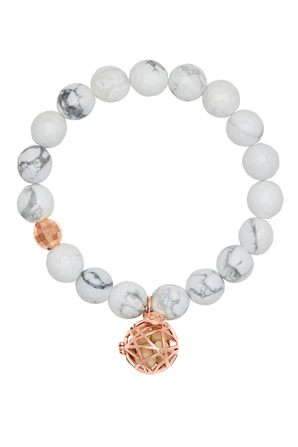 Aura Bracelet with Rose Gold Nest Charm