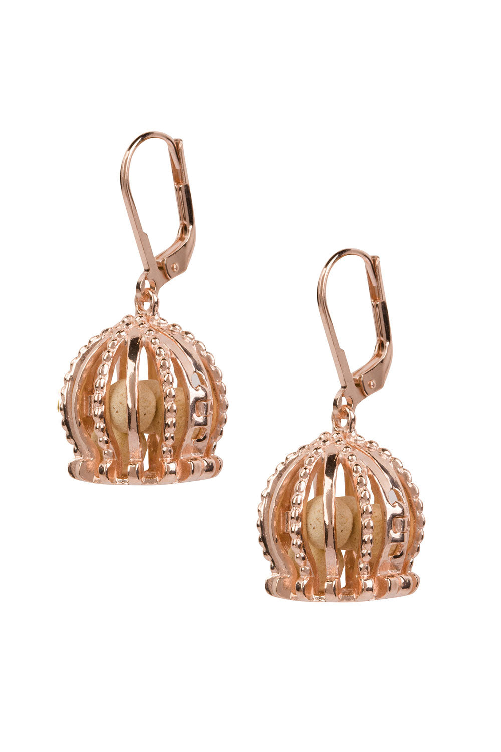 Imperial Earrings - Rose Gold