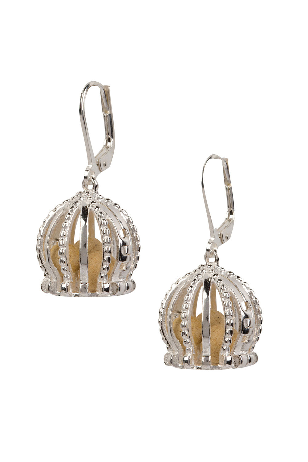 Imperial Charm Earrings - Silver