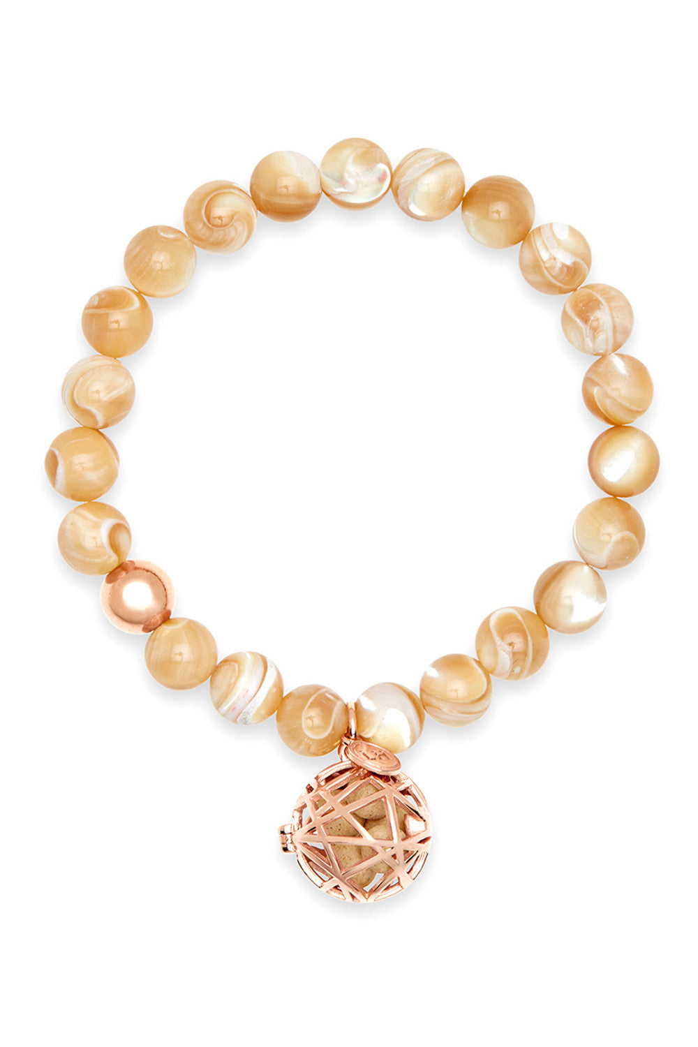 Lucida Bracelet with Rose Nest Charm