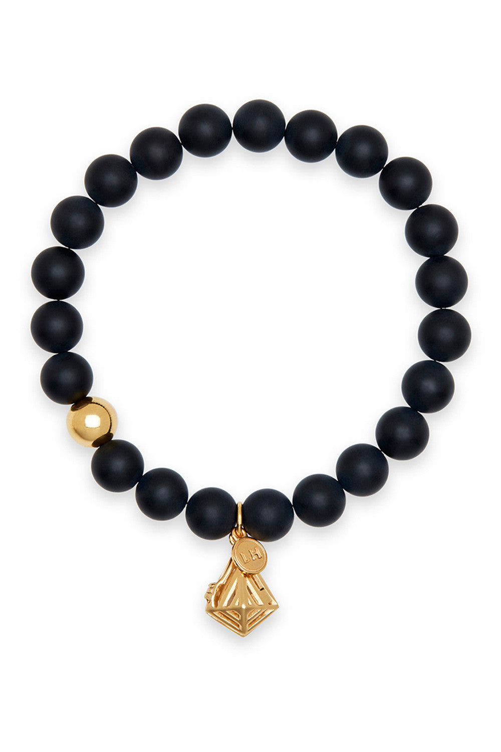 Orion Bracelet with Geo-Gem Charm