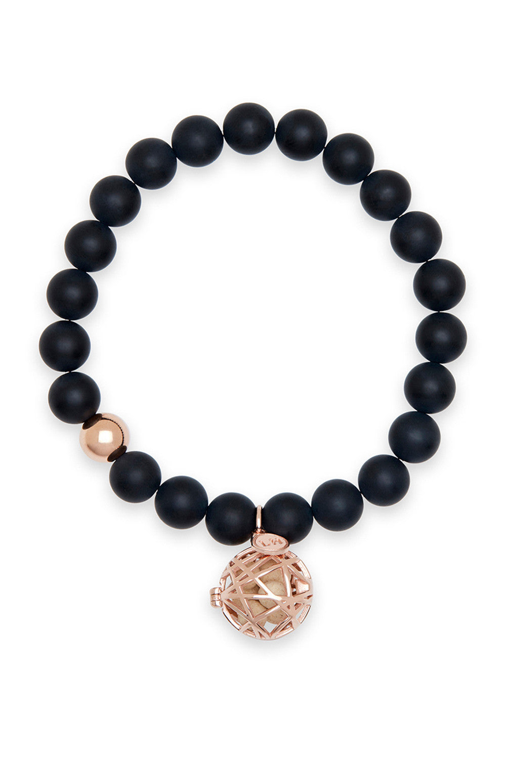 Orion Bracelet with Rose Nest Charm