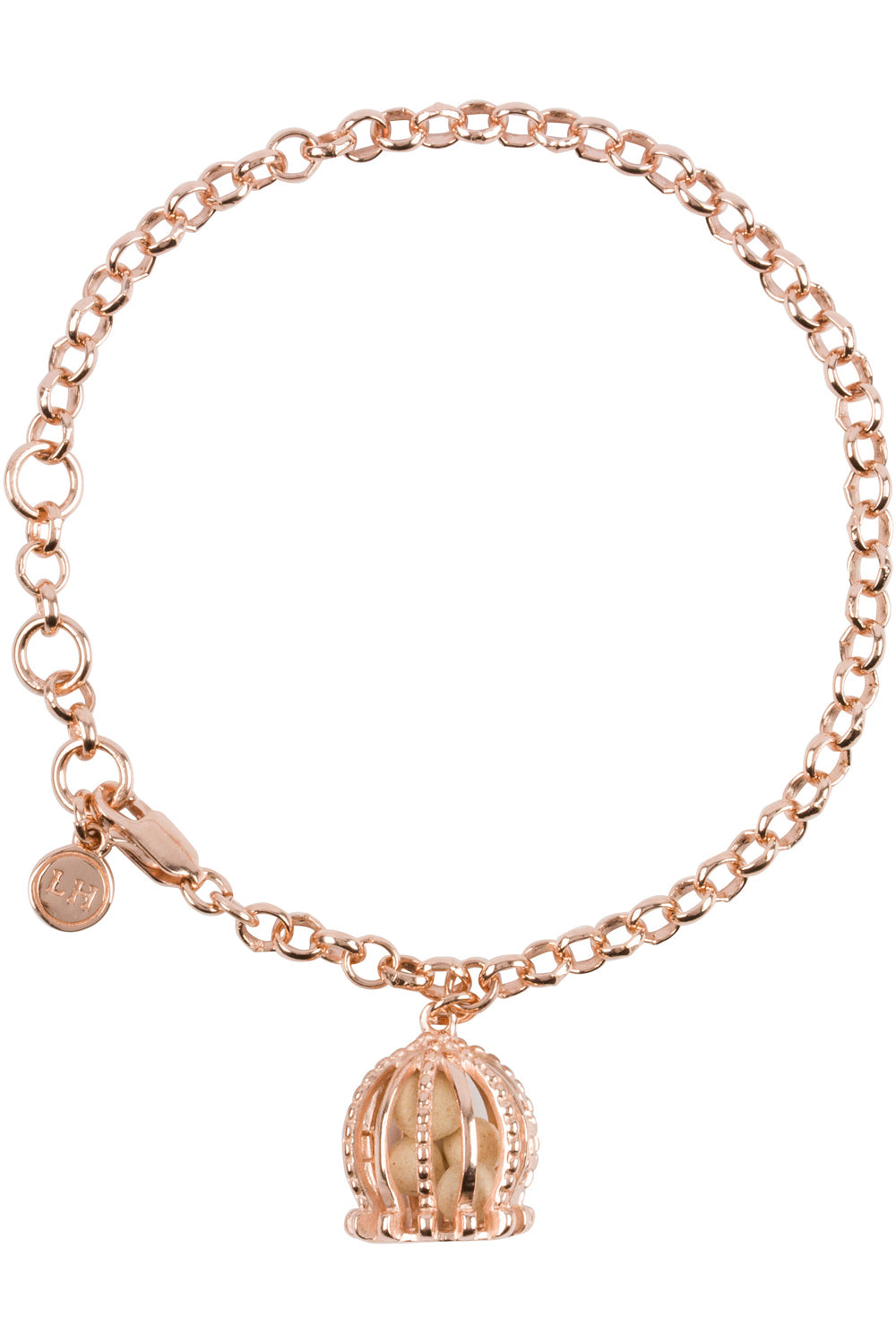 Imperial Charm Bracelet - Rose Gold