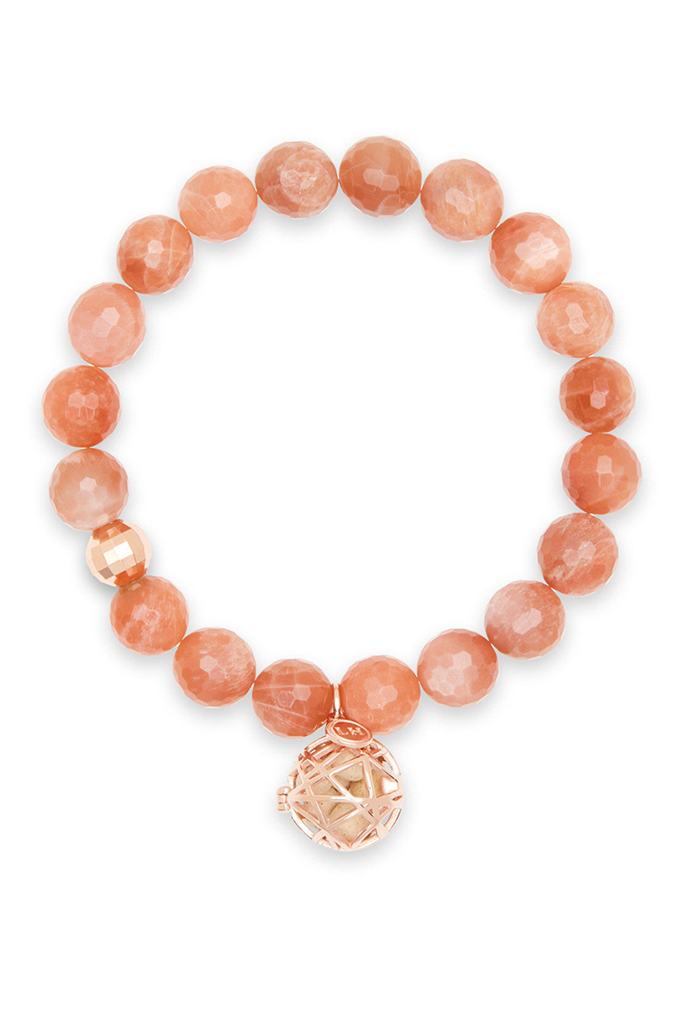 Ursa Bracelet with Rose Gold Nest Charm
