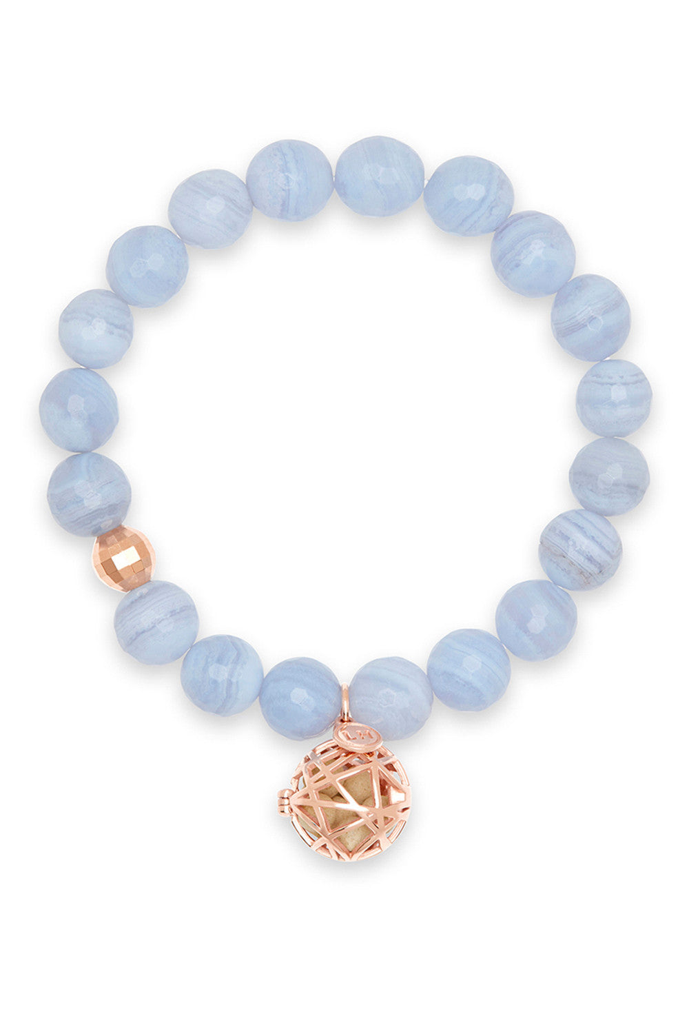 Vela Bracelet with Rose Gold Nest Charm