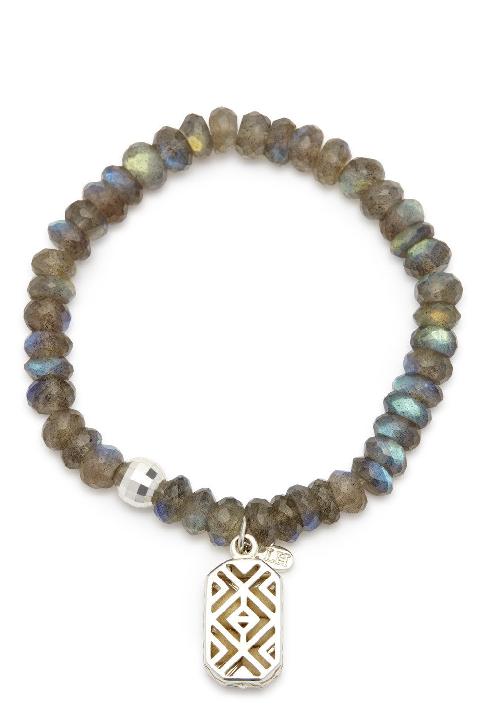 Chara Bracelet with Silver Voyager Charm
