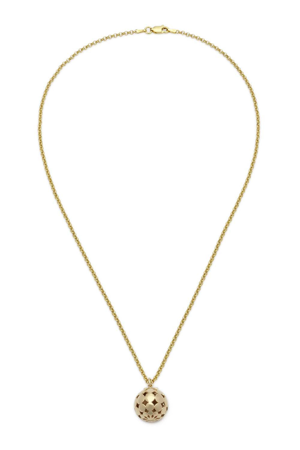 "30"" Hemisphere Necklace - 14K"