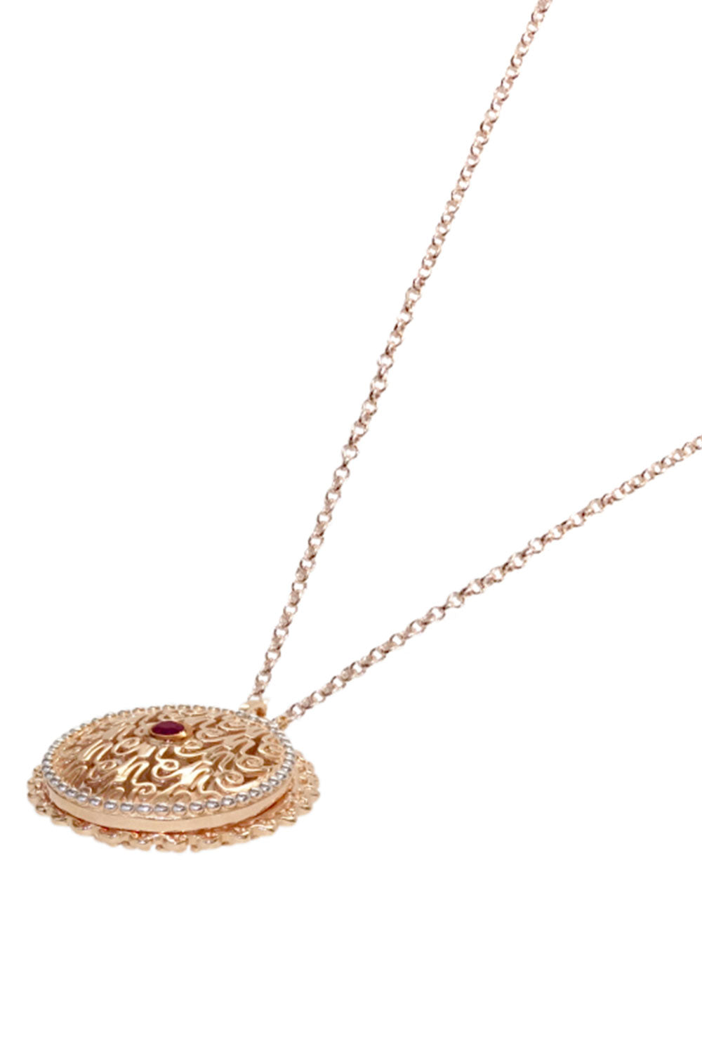 Heirloom Necklace Rose Gold LISA HOFFMAN