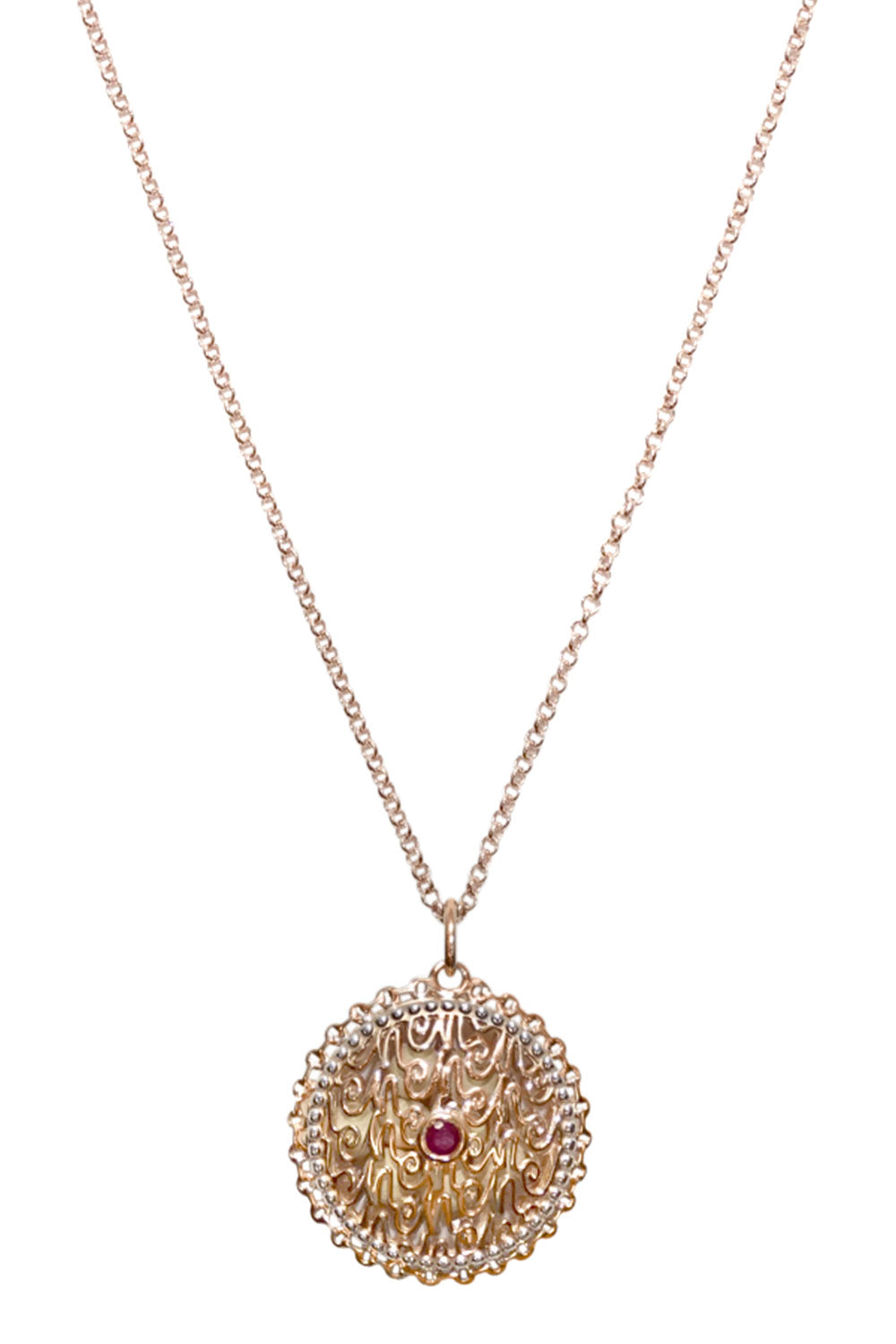 Heirloom Necklace - Rose Gold
