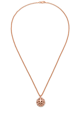 Limited Edition Hemisphere Necklace - Rose Gold