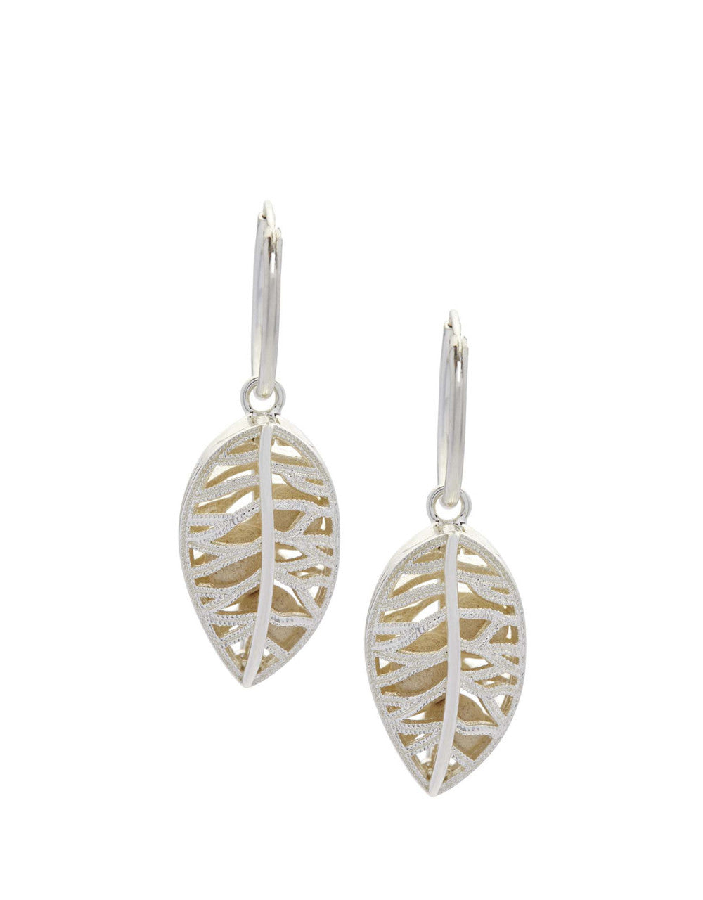 Laurel Earrings - Silver