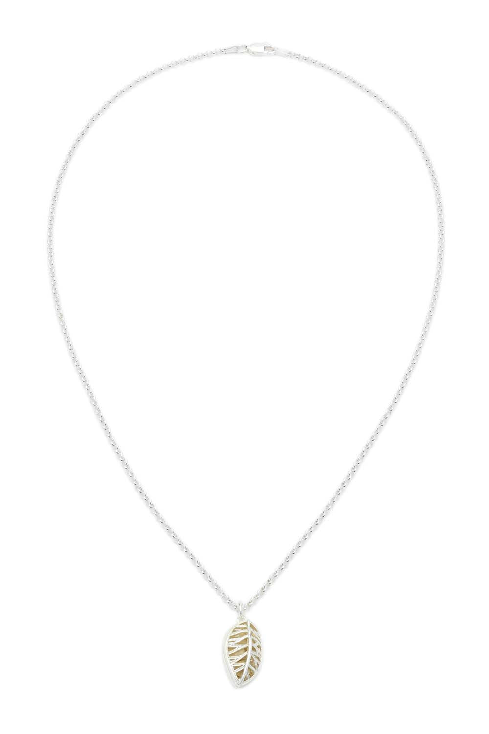 "20"" Laurel Necklace - Silver"