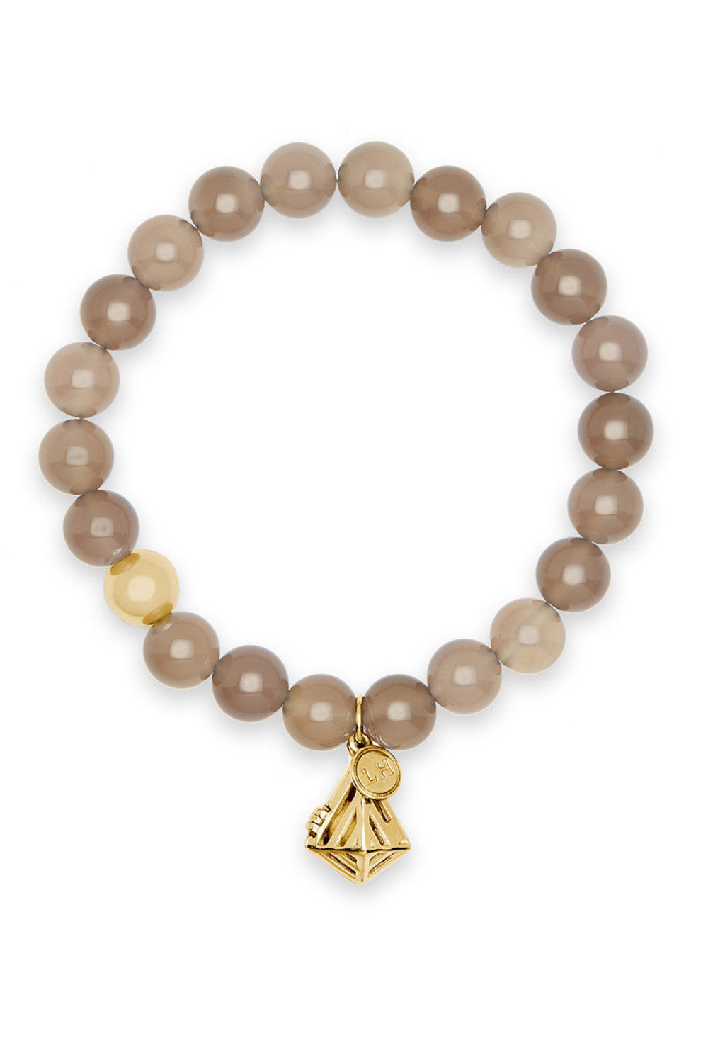 Ascella Bracelet with Geo-Gem Charm
