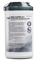 "Sani-Cloth AF3 Germicidal Wipes ""6 x 6.75"", 160/carton"