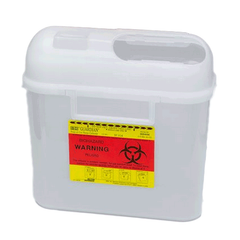 Sharps Collector, 5.4 Quart Horizontal