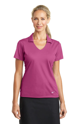 Nike Golf Ladies Dri-FIT Vertical Mesh Polo with MioTech logo