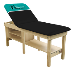 Team Rehab - Logo 6 leg Edge Sport Wood Treatment Tables