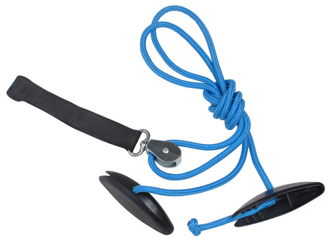 Blue Ranger Shoulder Pulley
