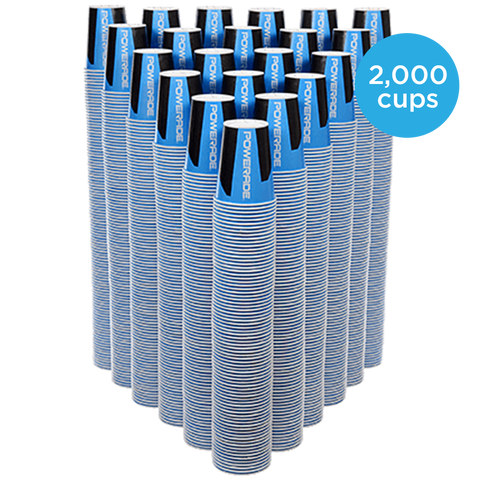 Powerade Cups (2,000/case)