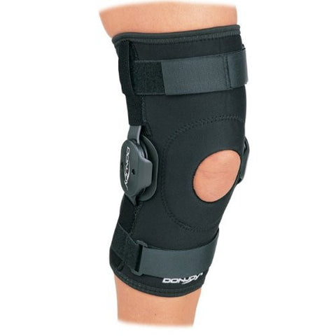 DonJoy Hinged Knee Sleeve with Horseshoe Buttress