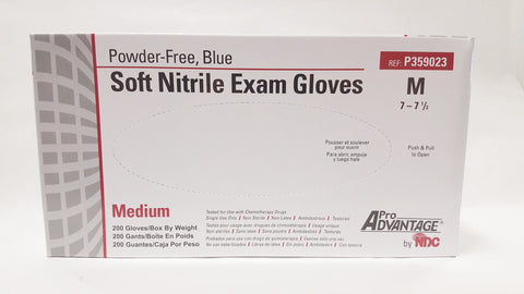 Pro Advantage Soft Nitrile Exam Gloves, 200/box