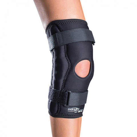 DonJoy Economy Hinged Knee Wrap with popliteal cutout - Drytex