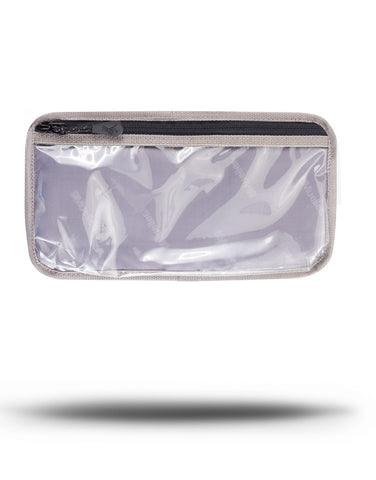 "Mueller Hero™ M1 Zipper Clear Pocket 10"" x 5"""