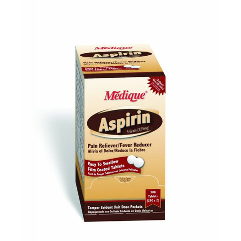 Medique Aspirin in Unit Dose Boxes