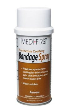Medique Bandage Spray, 3 oz Aerosol Can
