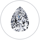 Shop Pear Cut Diamond Rings