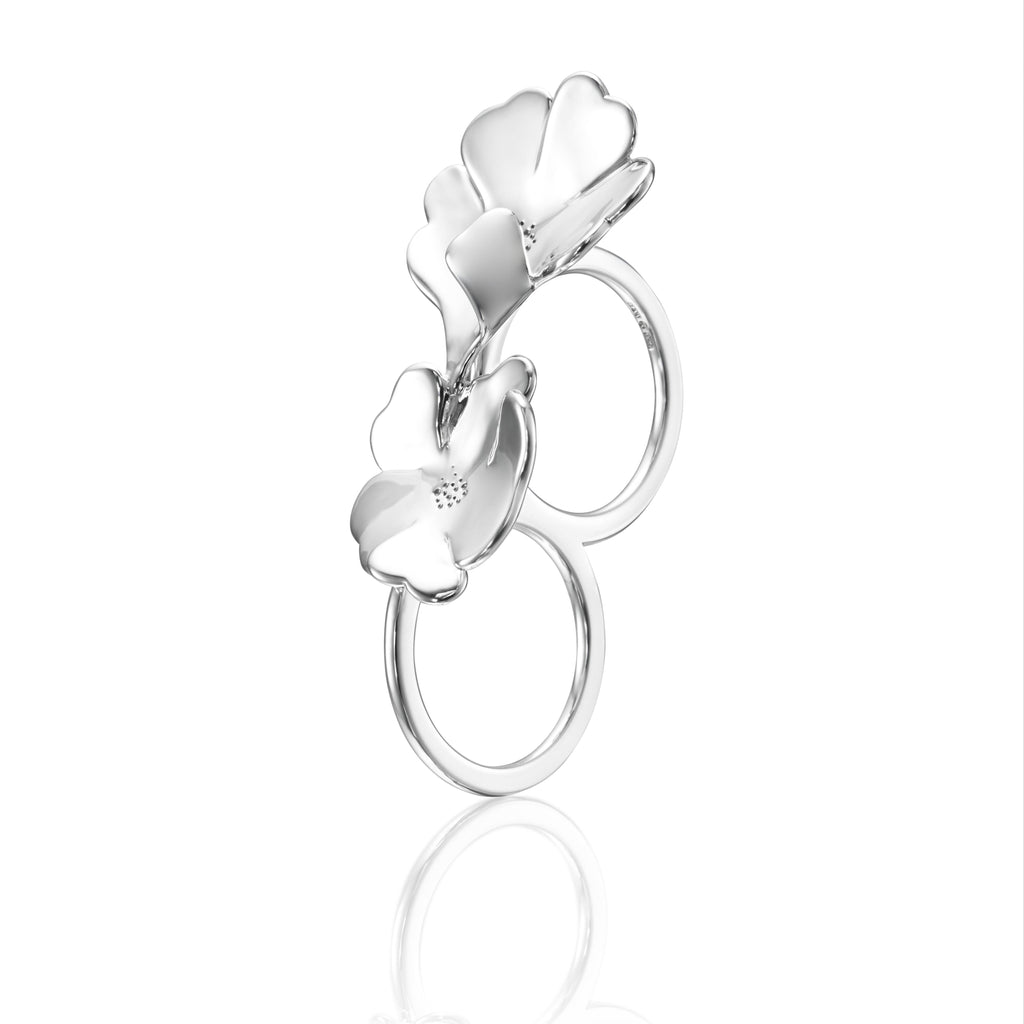 Efva Attling - Violet double ring, Ring
