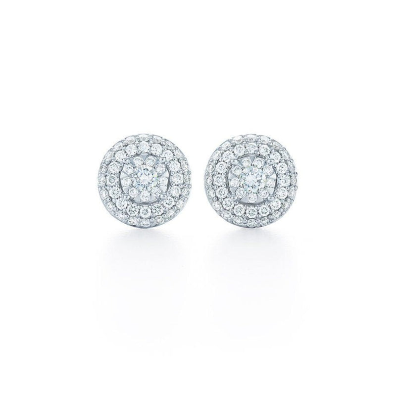 Kwiat - Sunburst Diamond Earrings, Earrings