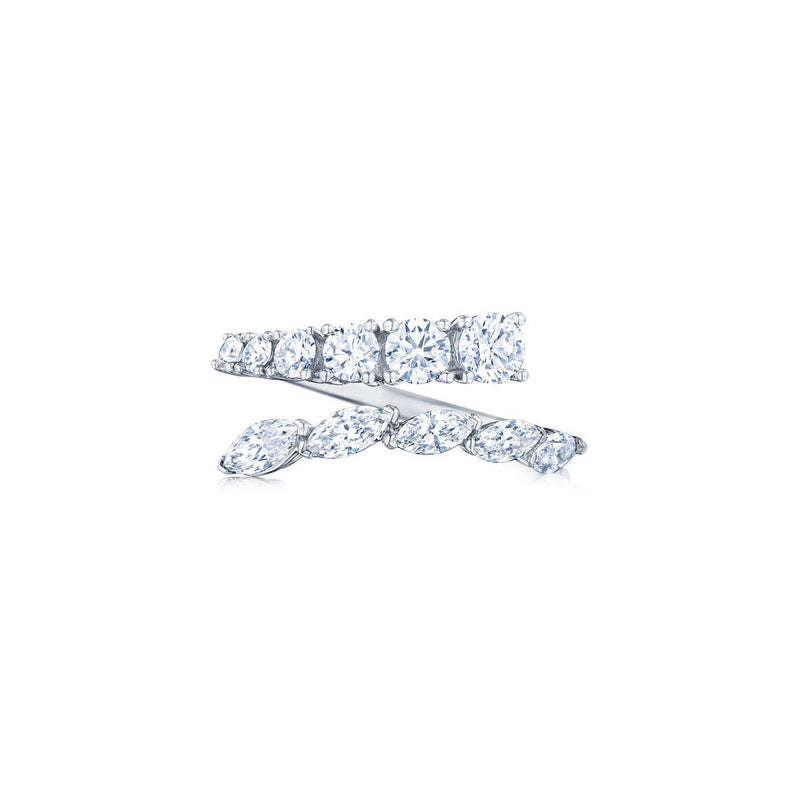 Kwiat Eclipse Bypass Diamond Ring Ring
