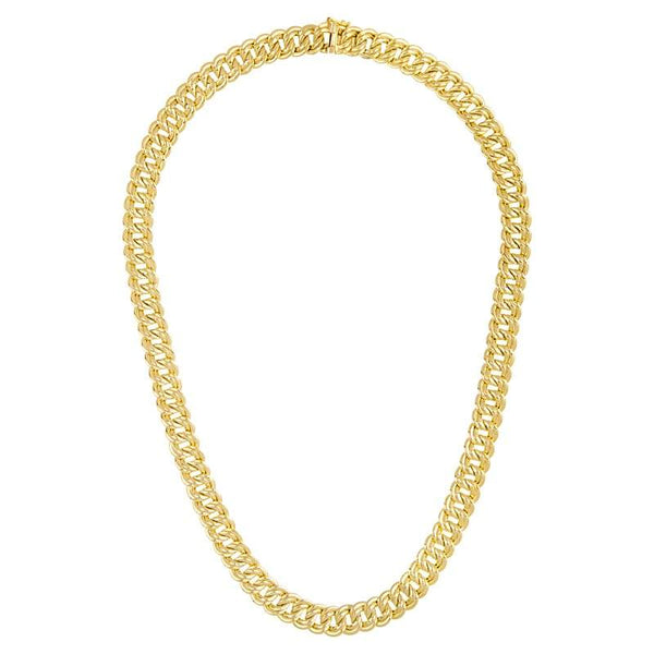 Herco 14KT Yellow Double Link 10mm Chain