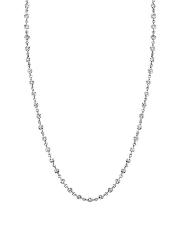 Emerson & Farrar - 18K white gold Diamond chain, Chain