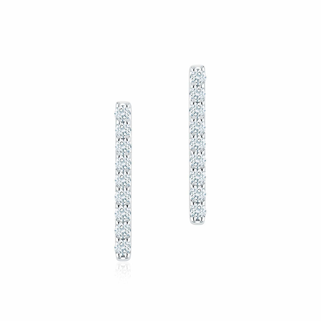 Birks - Diamond Bar Earrings, Earrings