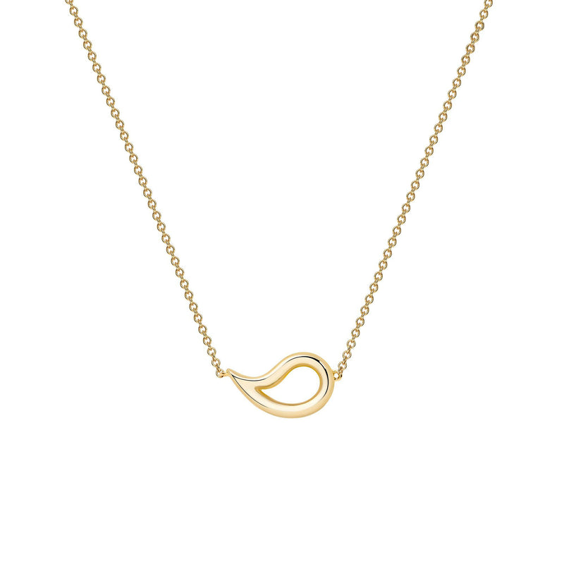 Birks Yellow Gold Necklace Pendant