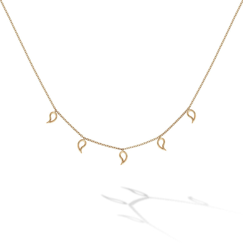 Birks - Iconic Yellow Gold Pétale Choker Necklace, Necklace