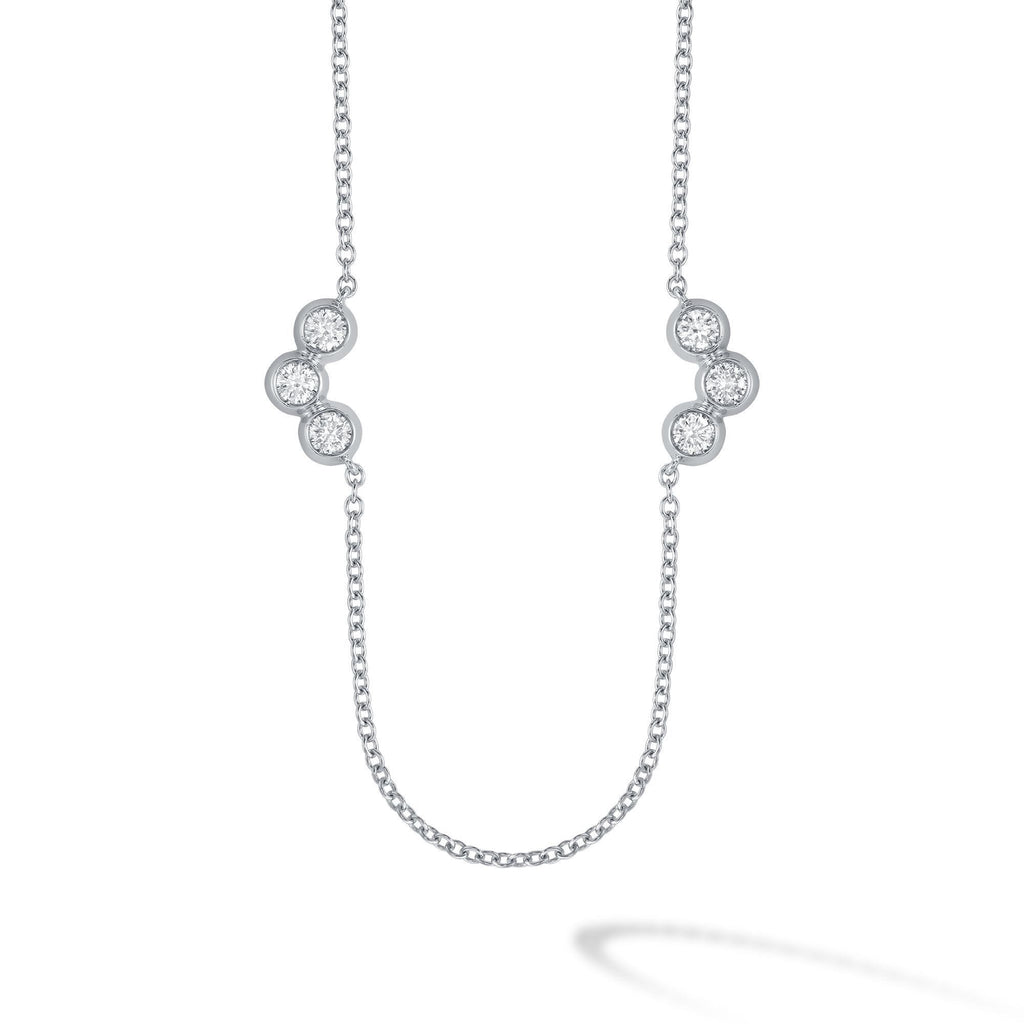 Birks - White Gold and Diamond Two Elements Splash Pendant, Necklace