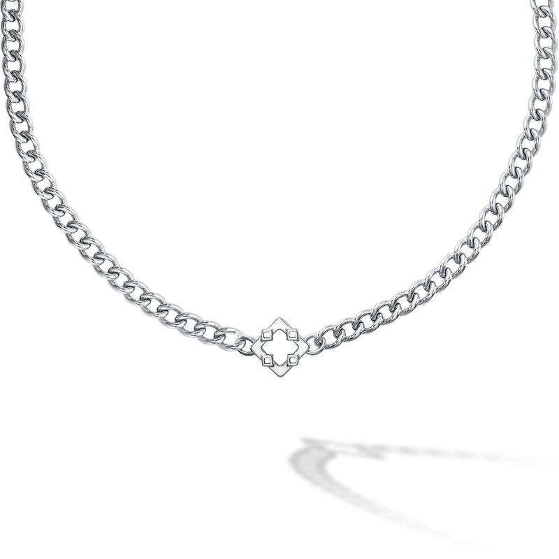 Birks Iconic Silver Muse Choker Necklace Necklace