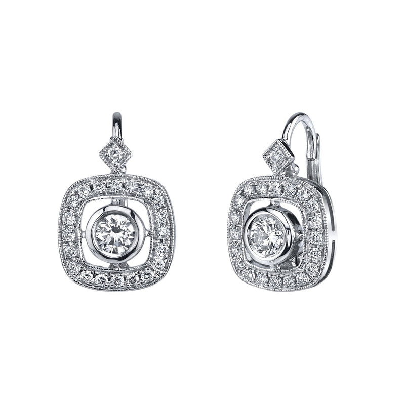 Beverley K - Leverback Earrings, Earrings