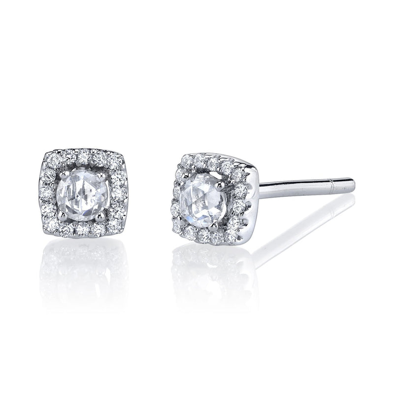 Beverley K - Halo Stud Earrings, Earrings