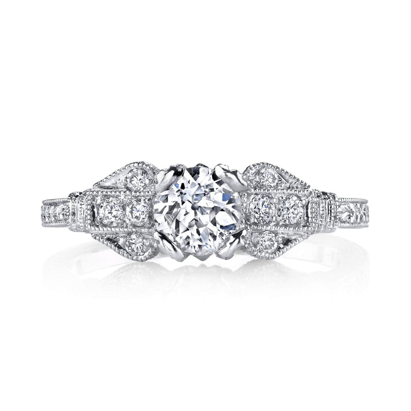 Beverley K - Vintage-Inspired Engagement Ring, Engagement Ring