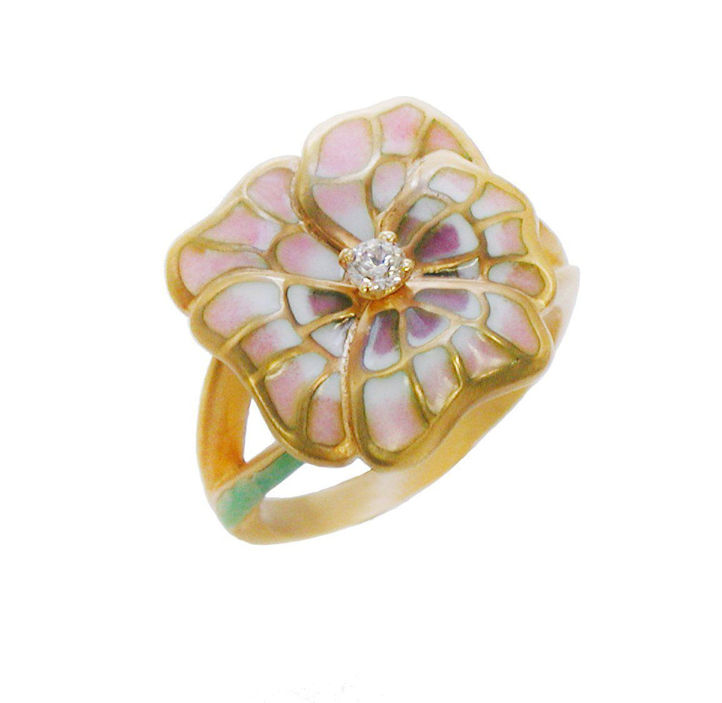 Masriera - Gold Flower Ring, Ring