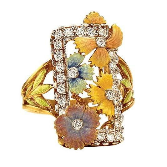 Masriera - Mums Flower Ring, Ring